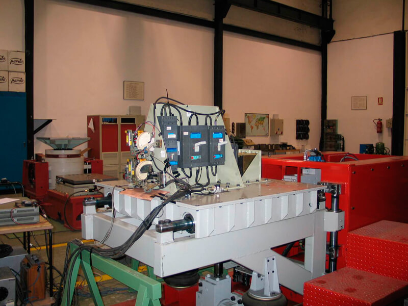 equipos ensayados en nuestro laboratorio de vibraciones y choques